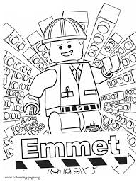 Small Picture The Lego Movie Emmet coloring page