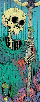 Pin by Miguel Kowalski on Skullz | Psychedelic art, Art ...