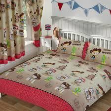 boys bedding single double junior duvet covers dinosaur