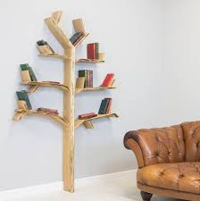 Love this stunning oak tree design handmade wooden shelf by Bespoak  Interiors