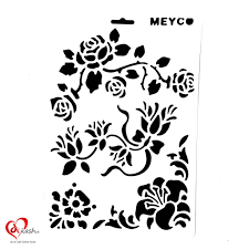 Stencil Designs Buy Online 8x12 Inches Wall Stencils For Painting Designs