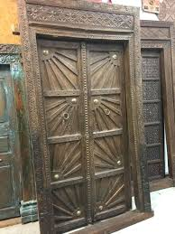 wood storm doors with glass panels