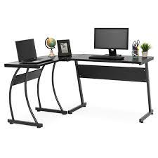 best desktop for home office. Best Choice Products 3-Piece Home Office L-Shaped Corner Computer Desk Workstation W Desktop For
