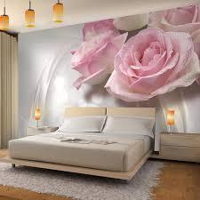 Fototapeten Blumen 3d Rose Grau 352 X 250 Cm Vlies Wand Tapete