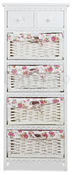 Wicker Basket Cabinet Savannah Wicker Basket Wooden Cabinet Furniture Appliances