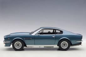 aston martin v8 vantage 1985. autoart 1985 aston martin v8 vantage in chichester blue diecast model car 1