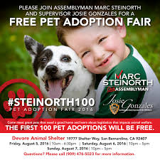 county of san bernardino > board of supervisors > th district pet adoption fair