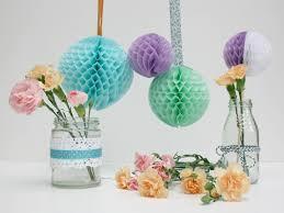 How To Make Fluffy Decoration Balls StickyTiger The Summer Decor Series DIY Honeycomb Balls 54