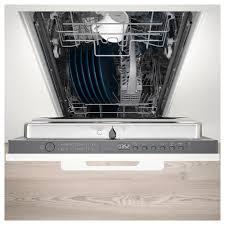 Small Dish Washer Medelstor Integrated Dishwasher Grey Ikea