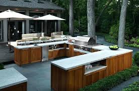 Rustic Outdoor Kitchen Ideas Designs With Pool Frames How