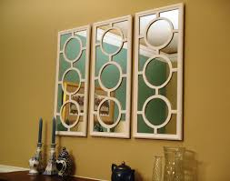 Dining Room Wall Decor With Mirror Lazy Liz On Less Dining Wall - Mirrors for dining room walls