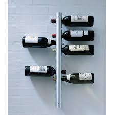 novelty modern stainless steel wine rack bottle holder bar