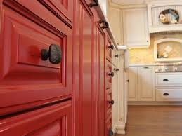 Red Country Kitchen Cabinets Red Country Kitchen Cabinets
