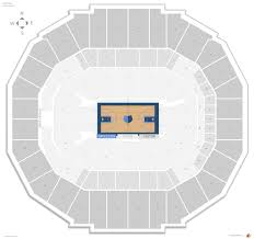 Memphis Grizzlies Stadium Seating Chart Memphis Grizzlies Seating Guide Fedex Forum