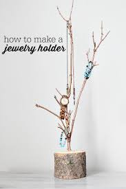 how to make a jewelry holder tree at refreshrestyle com