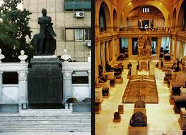 Image result for Most of these treasures are now housed in the Cairo Museum.