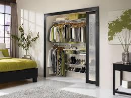 modern reach in closet