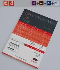 Resume Templatesnvoice Designs Template Creative Market Freelance