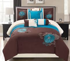 turquoise comforter set king incredible sets runclon me with 5 plrstyle com