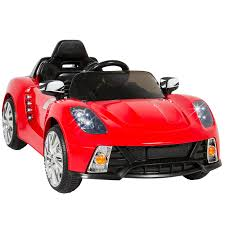 best choice s 12v kids battery powered remote control electric rc ride on car w and aux red com