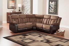 reclining sectional microfiber. Perfect Reclining Homelegance Vera Reclining Sectional Sofa  Chocolate Textured Plush  Microfiber U0026 BiCast Vinyl On T