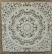 carved morocan wooden wall panel