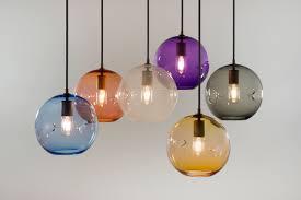 keep poke pendant hand blown glass lighting