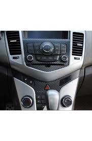 Forti-USA |Carbon Fiber Interior console Gear Shift Décor trim For ...