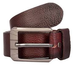 exotique men s red casual leather belt