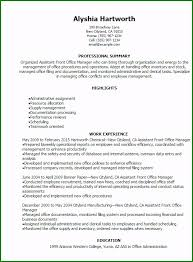 resume for front desk exceptional front desk resume examples for 2019