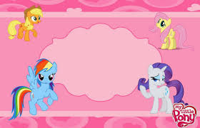 American Greetings Templates My Little Pony Birthday Invitation New American Greetings My