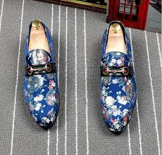 Promotion New Spring <b>Men</b> Velvet Embroidery <b>Loafers</b> Party ...
