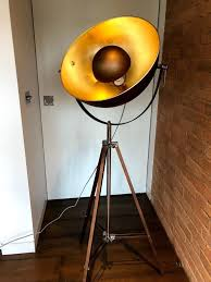 made chicago floor lamp copper brand new 110