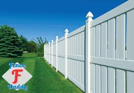 white fence. Fence Daddy Vinyl Patch Kit White Panels