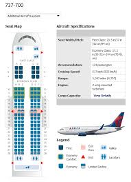 delta 737 700 chart delta boeing 737 800 seating map
