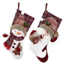 Christmas Socks Gift Bag Christmas Decorations Santa ... - Vova
