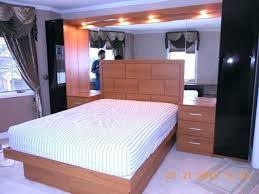 Bed Set With Mirror Headboard Mirror Bedroom Set Complete Bedroom ...