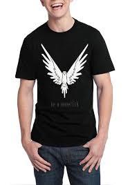 Be A Maverick Black T Shirt
