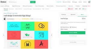 Fiverr Logo Design Cost Outsourcing Logo Design On Fiverr The Ultimate Guide