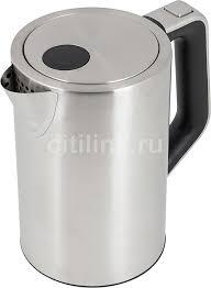 Купить <b>Чайник электрический KITFORT</b> КТ-621, серебристый в ...