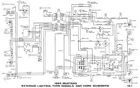 1964 mustang wiring diagrams average joe restoration 66 mustang wiring diagram 1966 Mustang Wiring Diagram #12