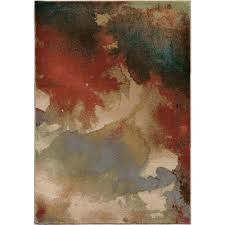orian rugs soft abstract splash multi area rug