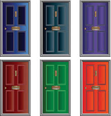 house door clipart. Endearing Open And Closed Door Clipart With Front House H