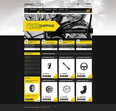 auto parts website template website template 28828 spare parts auto custom website template