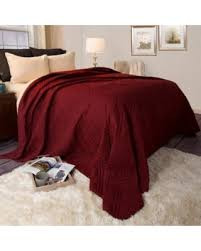 Winter Shopping Season is Upon Us! Get this Deal on Somerset Home ... & Somerset Home Solid Color Bed Quilt, Full/Queen, Burgundy Adamdwight.com