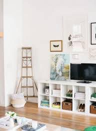 Furniture: Grey Ikea Kallax Shelves In Living Room - IKEA Kallax Shelves
