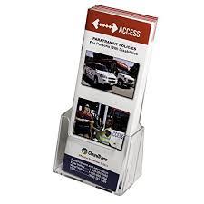 Single Magazine Display Stand Mesmerizing Brochure Display Stand Amazon