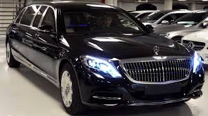 The latest version of the s600 mercedes maybach s600 pullman guard weighs a whopping 5.1 tons. Rare Look At The 2019 Mercedes Maybach S600 Pullman Guard