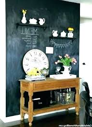 chalkboard wall decor kitchen chalkboard wall ideas layout home design for decor kitchen chalkboard wall