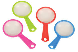plastic magnifying glass 4 69
